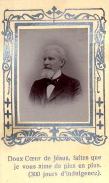 Bidprentje Eugène Regout.