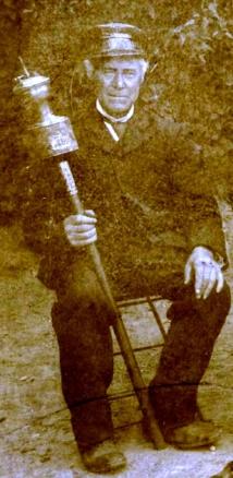 Henricus Blanckers als gids.